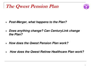 The Qwest Pension Plan