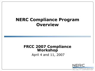 Ppt nerc compliance program overview powerpoint presentation id download section publicscrutiny Image collections