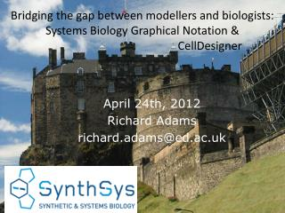 Bridging the gap between modellers and biologists: Systems Biology Graphical Notation &