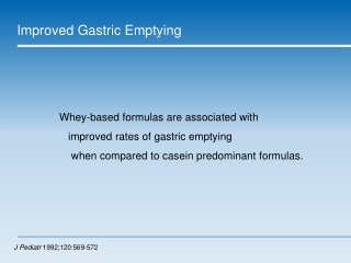 Gastrostomy and  Reflux -