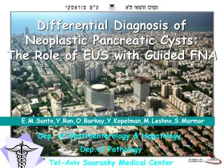Differential Diagnosis of Neoplastic Pancreatic Cysts: The Role of EUS with Guided FNA