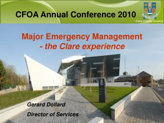 Major Emergency Management - the Clare experience
