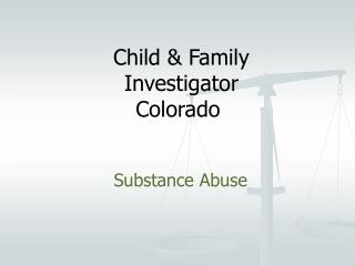 Child & Family Investigator Colorado