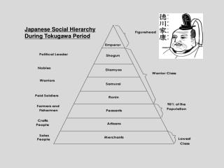 Japanese Social Hierarchy During Tokugawa Period