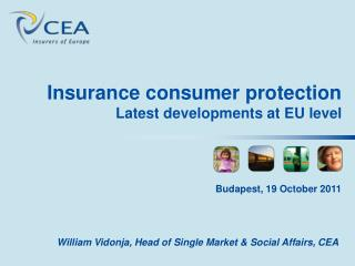 Insurance consumer protection Latest developments at EU level