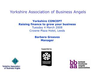 Yorkshire Association of Business Angels