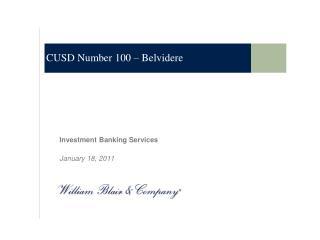 CUSD Number 100 – Belvidere