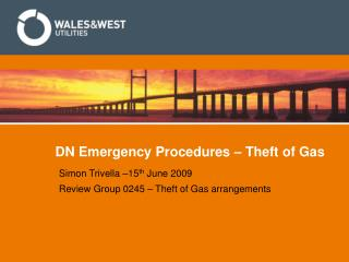 DN Emergency Procedures – Theft of Gas