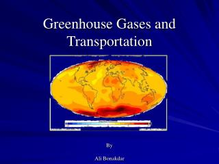Greenhouse Gases and Transportation