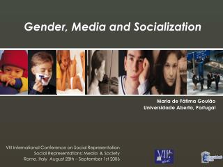Gender, Media and Socialization