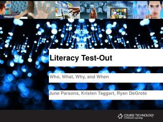 Literacy Test-Out