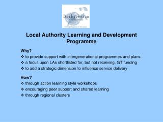 Local Authority Learning and Development Programme
