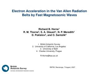 Electron Acceleration in the Van Allen Radiation Belts by Fast Magnetosonic Waves