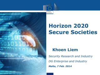 Horizon 2020 Secure Societies