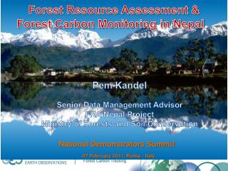 Forest Resource Assessment & Forest Carbon Monitoring in Nepal