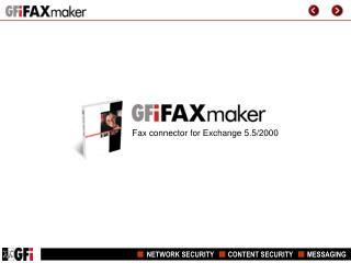 Fax connector for Exchange 5.5/2000