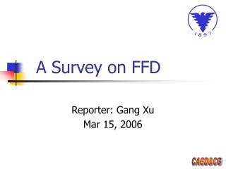 A Survey on FFD
