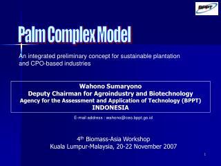 Palm Complex Model