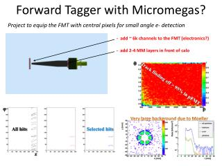 Forward Tagger with Micromegas?