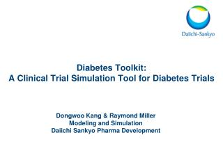 Diabetes Toolkit: A Clinical Trial Simulation Tool for Diabetes Trials