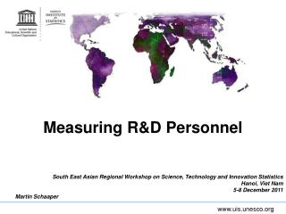 Measuring R&D Personnel