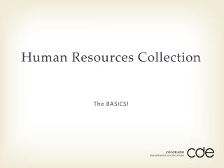 Human Resources Collection