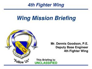 Wing Mission Briefing