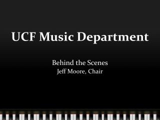 UCF Music Department