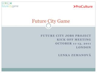 Future  City Game