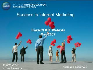 Success in Internet Marketing