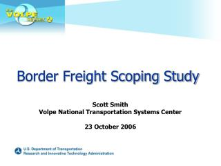 Border Freight Scoping Study