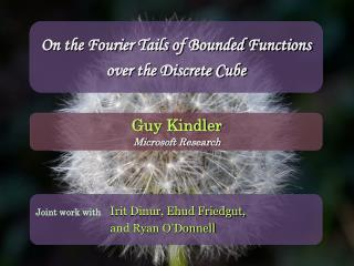 On the Fourier Tails of Bounded Functions over the Discrete Cube