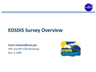 EOSDIS Survey Overview