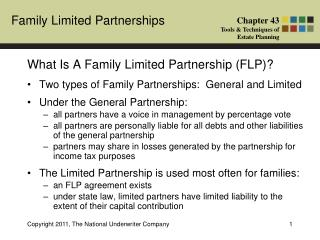 What Is A Family Limited Partnership (FLP)?