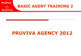 BASIC AGENT TRAINING 2