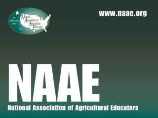 2014-2015 NAAE Board of Directors & Regional Secretaries