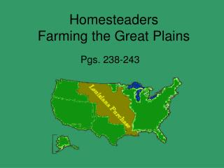 Homesteaders Farming the Great Plains