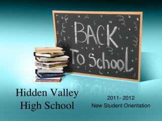 Hidden Valley High School