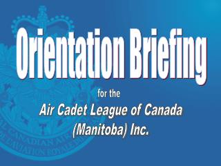 Air Cadet League of Canada (Manitoba) Inc.