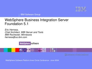 WBI Server Foundation 5.1