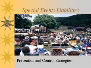 Special Events Liabilities