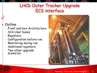 LHCb  Outer Tracker Upgrade ECS interface