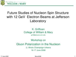 Future Studies of Nucleon Spin Structure with 12 GeV  Electron Beams at Jefferson Laboratory