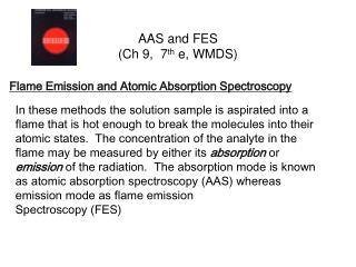 AAS and FES Ch 9,  7th e, WMDS