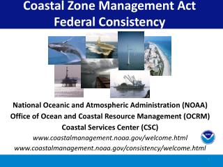 Coastal Zone Management Act Federal Consistency