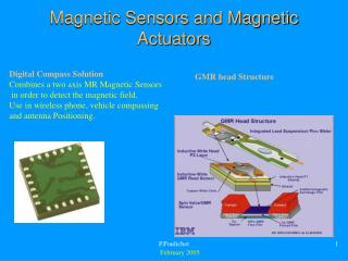 Magnetic Sensors and Magnetic Actuators