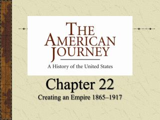 Chapter 22 Creating an Empire 1865–1917