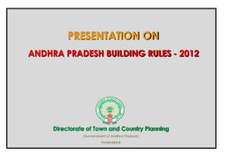 Directorate of Town and Country Planning (Government of Andhra Pradesh) Hyderabad