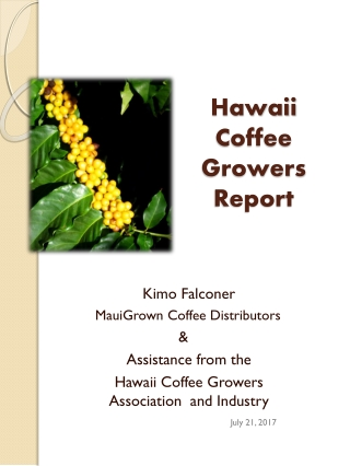 History of Cacao in Hawaii