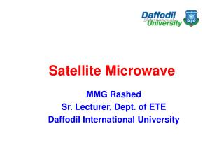 Satellite Microwave